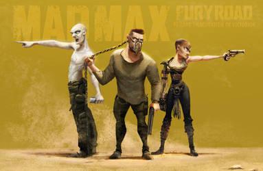 Mad Max fury road - fanart by Victorior