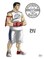 SSF4 Alternate Costume Ryu by arsenalgearxx