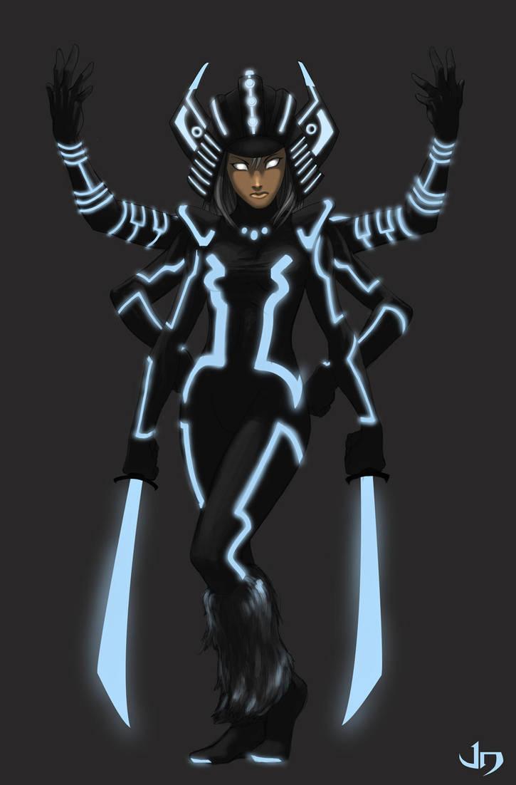 Spiral Tron by arsenalgearxx