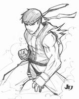 DSC - Ryu by arsenalgearxx