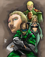 Snake Eater Colors by arsenalgearxx