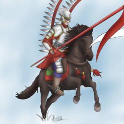 Winged Hussar by JonKursar