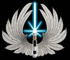 Realistic Jedi order logo by Gardek