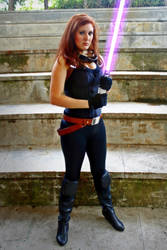 Mara Jade cosplay - Full body by Gardek