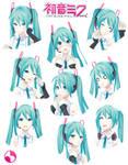 MMD | Miku Hatsune V4x YoiStyle | Expressions by adan-YoiStyle