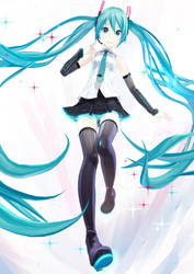 MMD | Miku Hatsune V4x by adan-YoiStyle