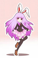 Lunatic Rabbit by JellyBunny
