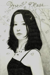 Black Dress by Sch1itzie