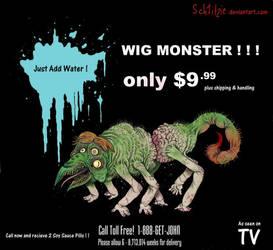 Wig Monster by Sch1itzie