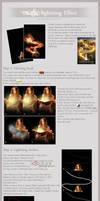 Magic Lightning Tutorial by kupat
