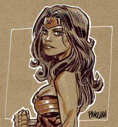 Wonder Woman by urban-barbarian