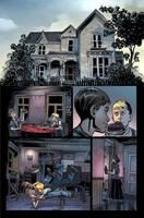 Color Sabretooth Page 1 by urban-barbarian