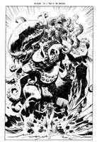 God Squad Kraken by urban-barbarian