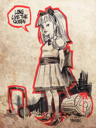 Go Ask Alice by urban-barbarian