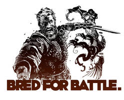 Bred for Battle by urban-barbarian