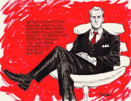 Roger Sterling by urban-barbarian