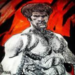 Jim Kelly by urban-barbarian