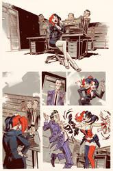 Harley Quinn #0 by urban-barbarian