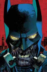 Batman: Arkham Knight Cover by urban-barbarian