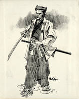 Logan Samurai by urban-barbarian