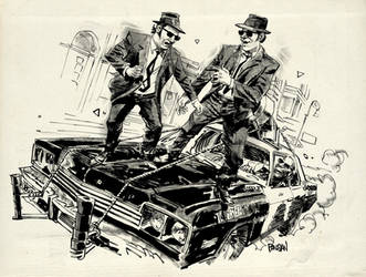 Blues Brothers! by urban-barbarian