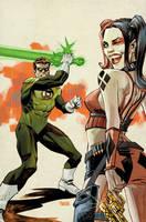 Harley Quinn #20 75th GL Anniversary Variant by urban-barbarian