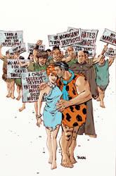 Flintstones by urban-barbarian