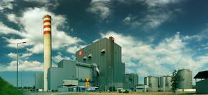 Power station in Chorzow by Dybcio