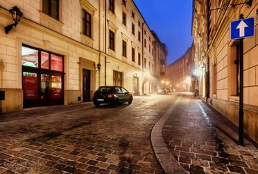Morning Street II by Dybcio
