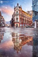 Mirror City by Dybcio
