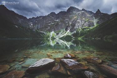 Rock Lake by Dybcio