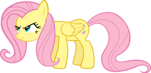 Fluttershy Angry Vector by StarshineCelestalis