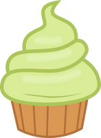 MLP Style Cupcake by StarshineCelestalis