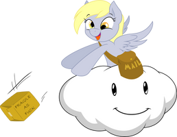 Derpy Delivery by StarshineCelestalis