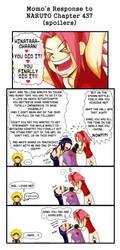 Momo's Response - Naruto 437 by Momoko-Kawase