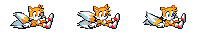 (Sonic Game Land) SPRITES: Tails Slide by TheValeev