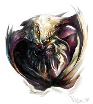 Bearded_Demon_Speedy by zombie-ninja