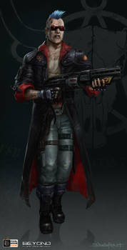 Shotgun_Rebel_01 by zombie-ninja