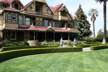 Winchester House by dhunley