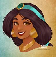 Princess Jasmine by daisyein