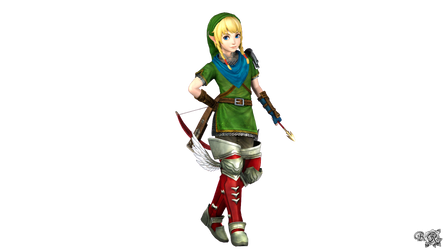 Linkle's Smash4 Menu Inspired  (QuickAlt) by S3BurningRose