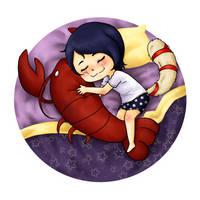 Precious Lobster Boy by KatFrendly24