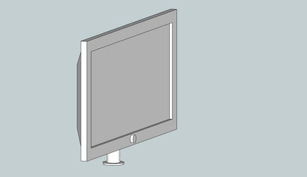 3D Computer Monitor by BigBlue2007