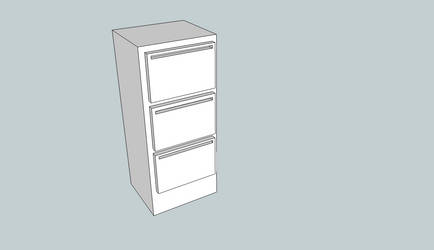 3D File Cabinet by BigBlue2007