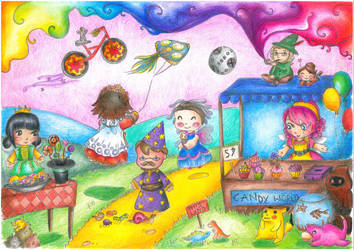 Candy World by Shehn-Mesenruus
