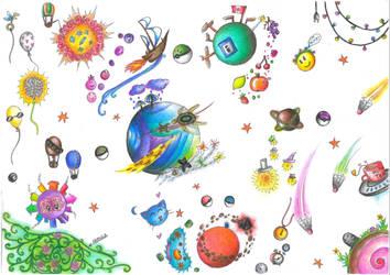 Big, vast and complicated universe... by Shehn-Mesenruus
