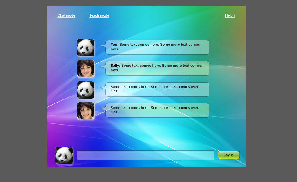 An online chat bot by salvin18