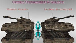 MMD Goliath Unreal Tournament 3 DL by Spartan-743