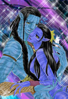 Avatar   Jake and Neytiri by Maria22882288
