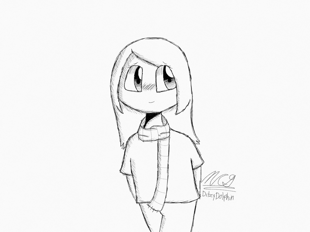 Digital pencil sketch thing by ditzydolphin
